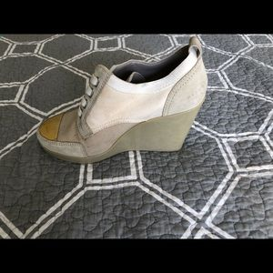 MARC JACOBS ladies wedge angle boots size 6